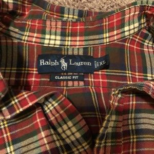 Other - Polo flannel